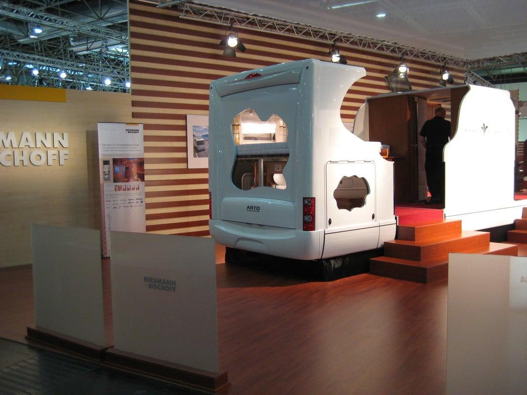 custom building a motorhome in Caravan Salon