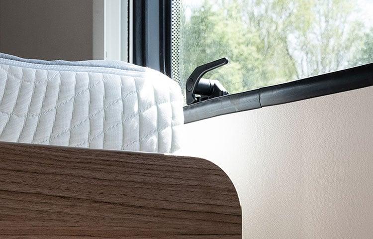 Comfortable-mattress-from-Carado-motorhome