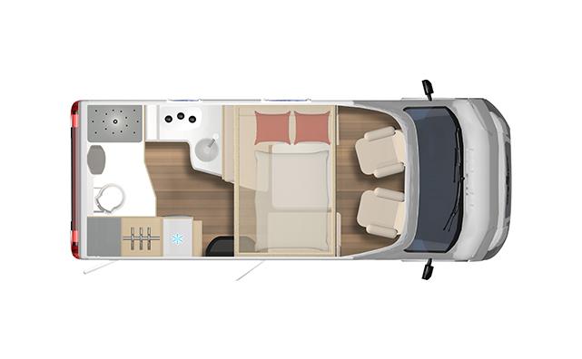 Lyseo TD590   2 Berth 2021 Motorhome For Sale NZ   Wilderness - Interior #1